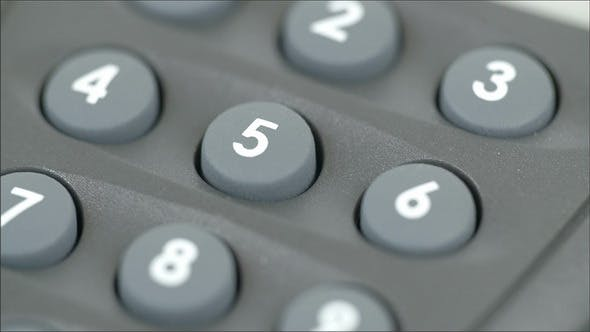 Number Pins of a Calculator