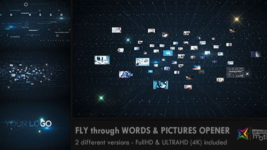 Thumbnail for Fly through Words & Images Opener