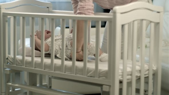 Thumbnail for Sleepy Baby In The Crib