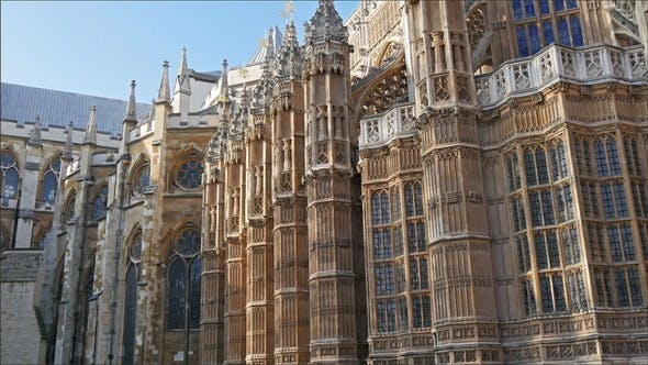The Beautiful Palace Of Westminster in London