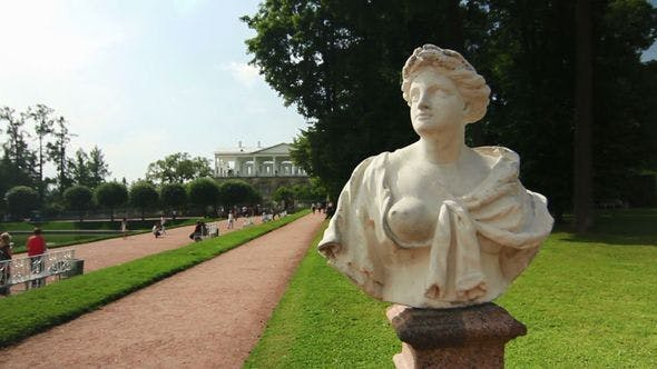 Thumbnail for Statue In Empress Katherine park, Tsarskoe selo