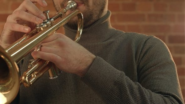 Thumbnail for Man Playing Trumpet