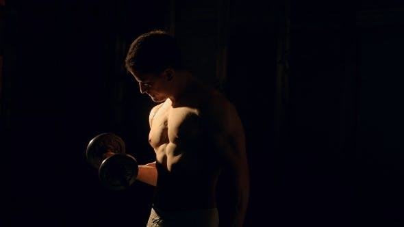 Thumbnail for Mman With Well Trained Body, Biceps, Abs And Pecs
