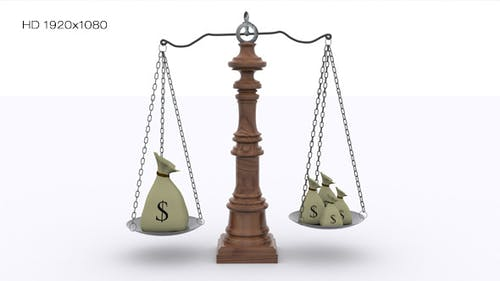 Scale - Money Balance Concept
