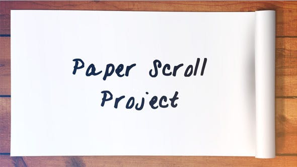 Thumbnail for Paper Scroll Project