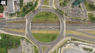 Roundabout Highway Interchange