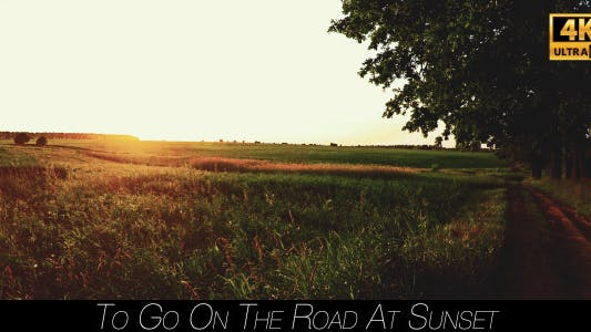Thumbnail for To Go On The Road At Sunset