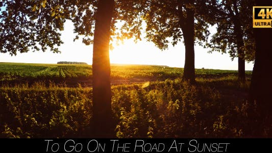 Thumbnail for To Go On The Road At Sunset 2