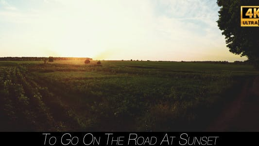 Cover Image for To Go On The Road At Sunset 3