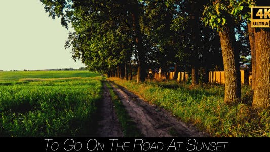 Thumbnail for To Go On The Road At Sunset 4