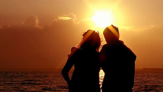 Thumbnail for Couple at Sunset