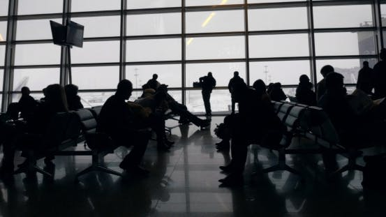 Cover Image for Long Time In Airport Waiting-Room
