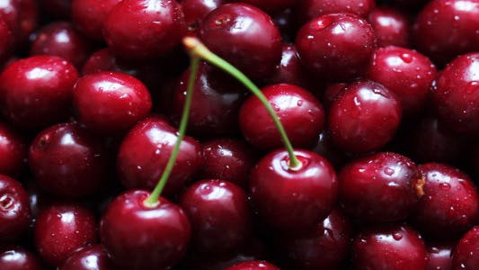 Cover Image for Rotating Ripe Cherries 7