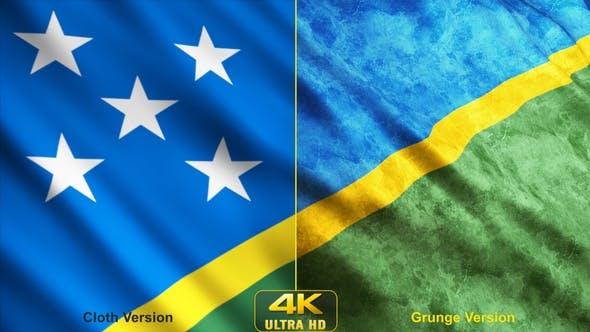 Solomon Islands Flags