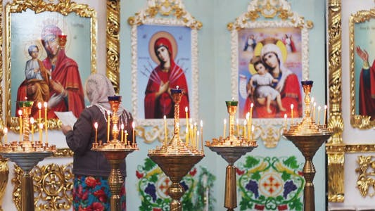 Thumbnail for Woman Praying in Church