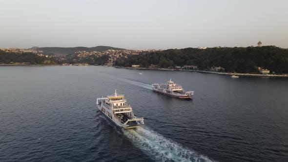 Ferry Boats Bosphorus Istanbul