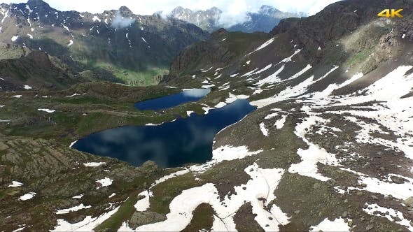 Thumbnail for Aerial Mountains and Glacier Lakes 1