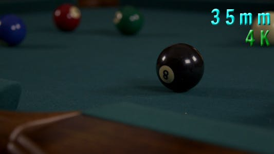 Thumbnail for Hitting The Ball In A Game Of Billiard Pool 4