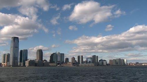 New Jersey Skyline Time-laps