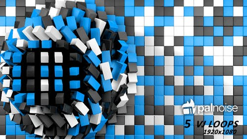 Extrusion Cubes Vj Loops (5-Pack)