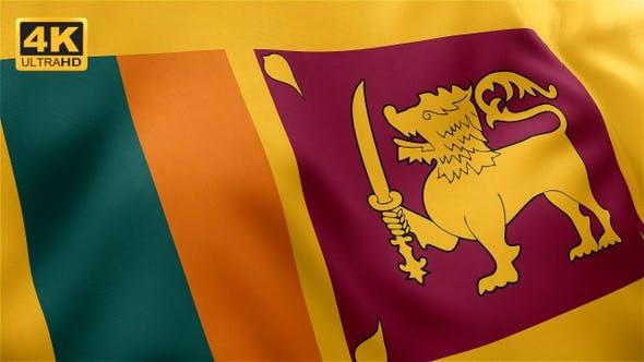 Thumbnail for Flag of Sri Lanka - 4K