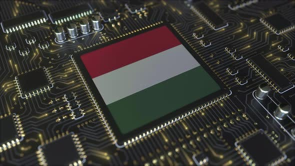 Thumbnail for National Flag of Hungary on the Operating Chipset