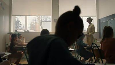 Children Learning in School Class