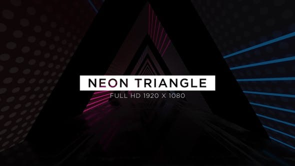Thumbnail for Néon Triangle VJ Loops Fond
