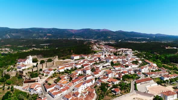 Thumbnail for Village Houses With Colorful Roofs in Portugal