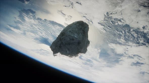 Dangerous Asteroid Approaching Planet Earth