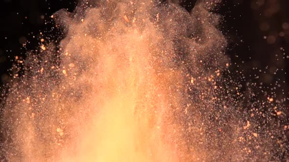 Thumbnail for Colorful Powder Explosion in Slow Motion