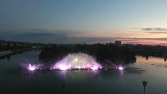 Cover Image for Dancing Water Fountain Show