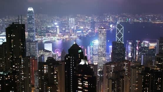 Thumbnail for Hong Kong city night