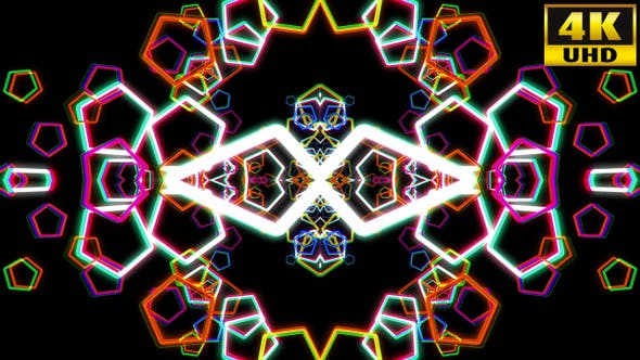 Thumbnail for Kaleidoscope Vj Loops V39
