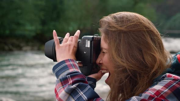 Photographer Taking Pictures of Nature