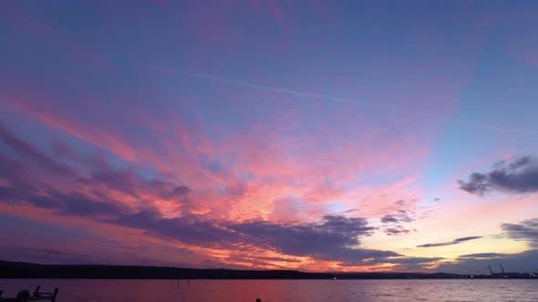 Thumbnail for stunning sunset