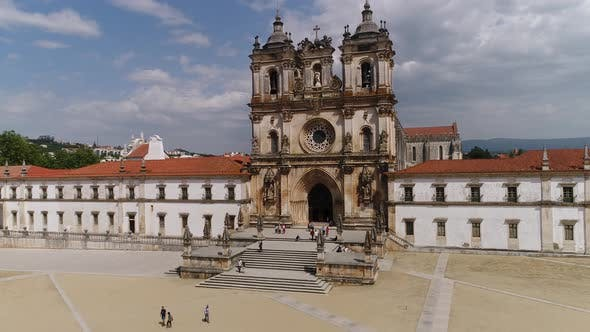 Thumbnail for People Visiting the Alcobaça Monastery, Portugal