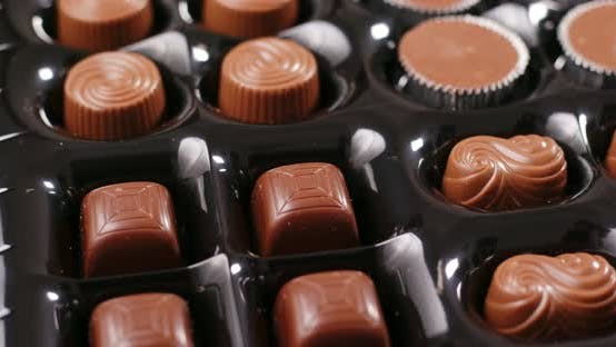 Thumbnail for Mixed milk chocolate in box