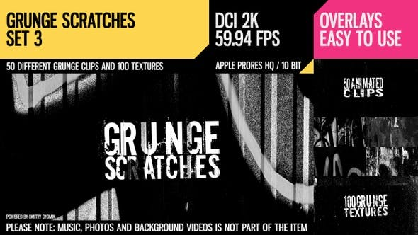 Thumbnail for Grunge Scratches (2K Set 3)
