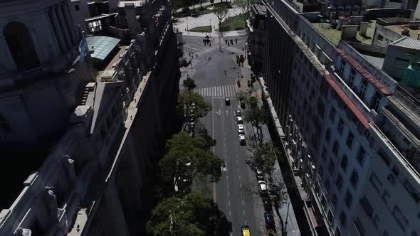 Avenida Belgrano Plaza De Mayo in Buenos Aires