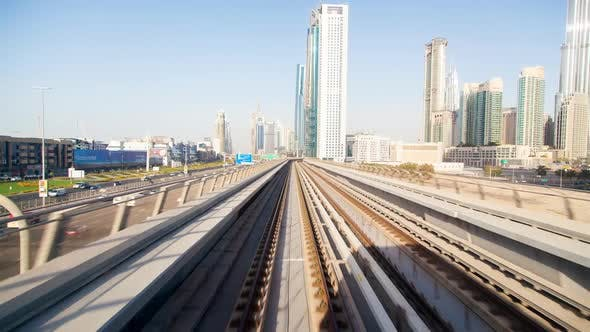 Thumbnail for Metro Dubai Time Lapse