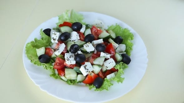 Thumbnail for Fresh Salad With Olive Oil
