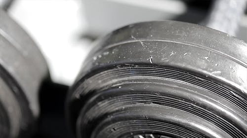 Powerlifting Weights In The Gym