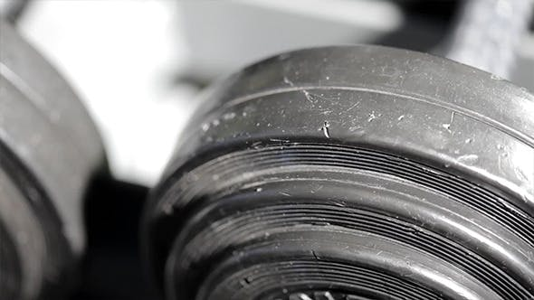 Thumbnail for Powerlifting Weights In The Gym