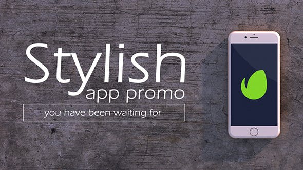 Thumbnail for Stylish Mobile App Promo