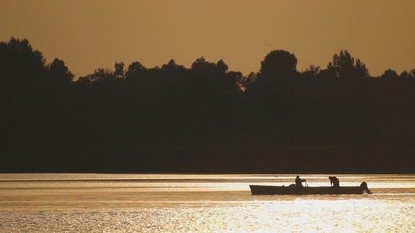 Thumbnail for Fishing Boat at Sunset 4
