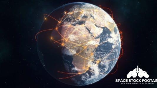 Thumbnail for Global Network - Orange