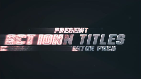 Thumbnail for Action Titles Trailer Creator