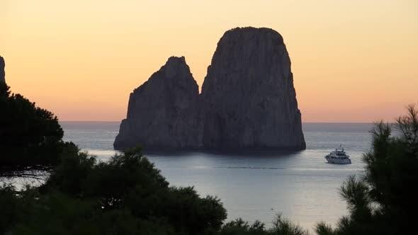 Thumbnail for Scenes Of The Faraglioni Near The Isle Of Capri (5 Of 5)