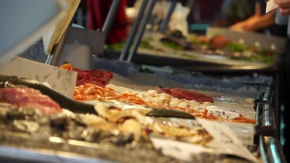 Thumbnail for Scenes Of The Rialto Food Market In Venice (3 Of 22)